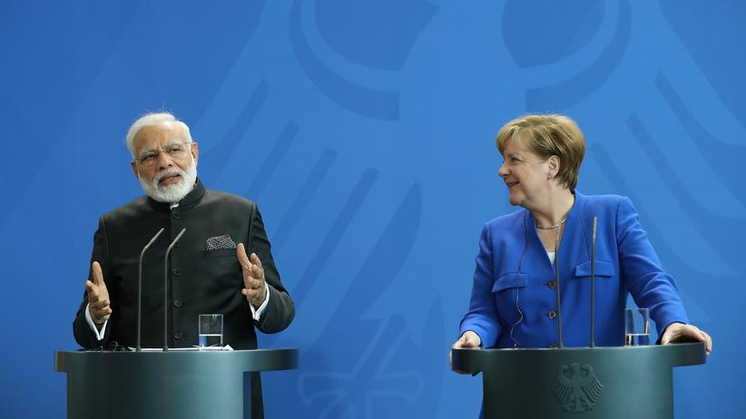 Narendra Modi: Deutschland und Indien vereinbaren Milliardeninvestitionen