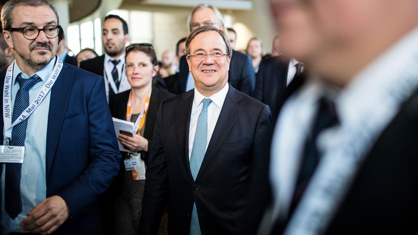 CDU in NRW: Armin Laschet nach seinem Wahlsieg