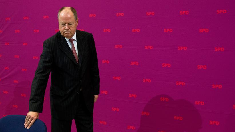 Peer Steinbrück: Der Pannenberater