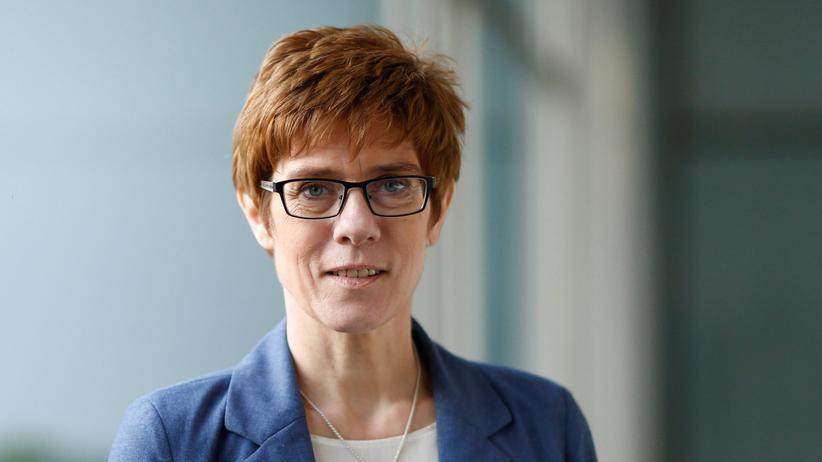 Saarland: Die CDU-Politikerin Annegret Kramp-Karrenbauer