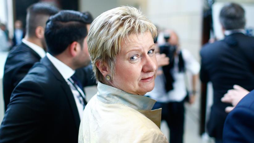 Die Grünen in NRW: Viel in NRW verloren: Sylvia Löhrmann am 14. Mai 2107 in Düsseldorf