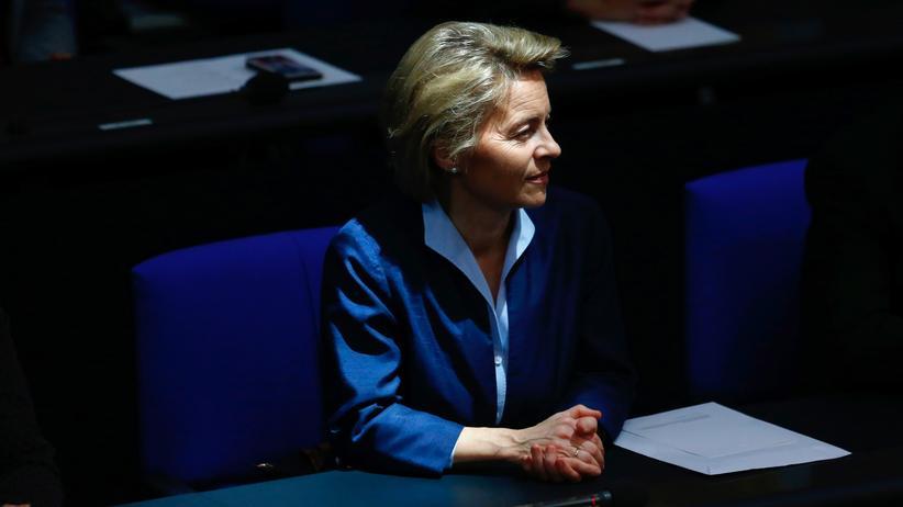 Ursula von der Leyen: Laut, heftig – richtig