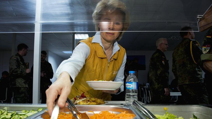 Ursula von der Leyen auf Truppenbesuch in der Türkei