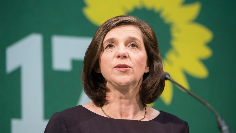 Wahlprogramm der Grünen: Die grüne Spitzenkandidatin für den Bundestagswahlkampf, Katrin Göring-Eckardt