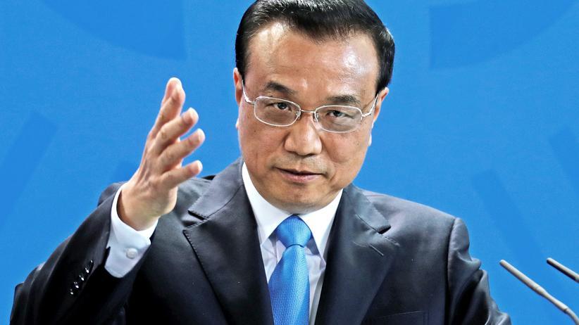 Li Keqiang bei Angela Merkel: China bekennt sich zum Klimaschutz