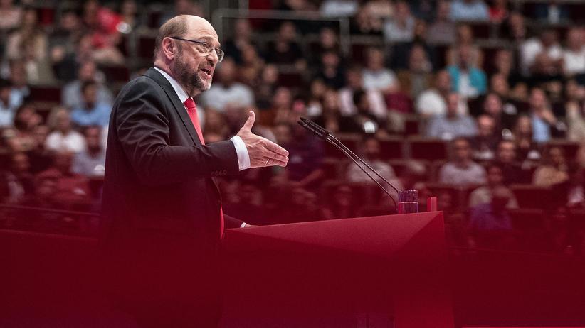 SPD-Parteitag: Martin Schulz will für die SPD Bundeskanzler werden.