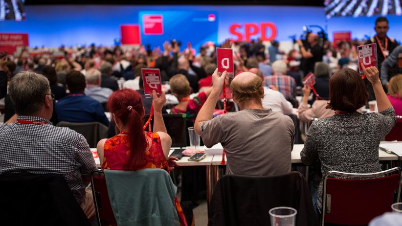 SPD-Wahlprogramm: Beim Parteitag der SPD in Dortmund votierten die rund 600 Delegierten für das Programm für die Bundestagswahl.
