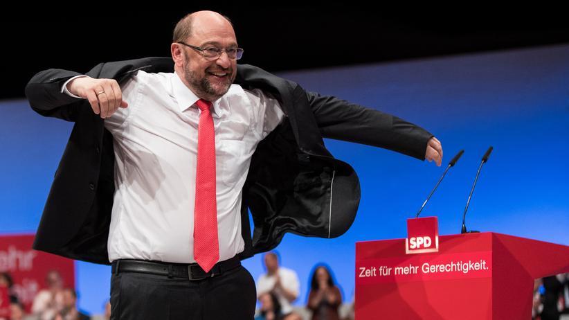 Ehe für alle: Erfolgreiches Manöver gegen die Kanzlerin: SPD-Kanzlerkandidat Martin Schulz