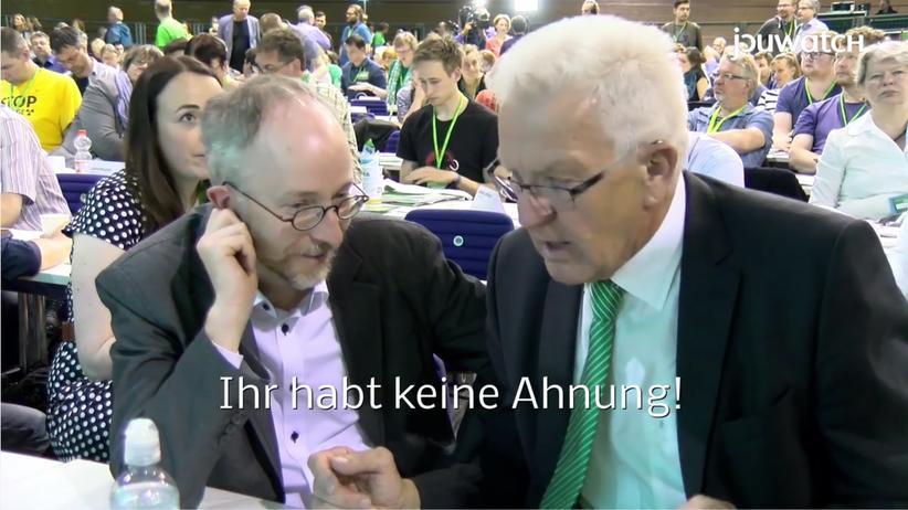 """Winfried Kretschmann: """"Macht euren Wahlkampf selbst!"""""""