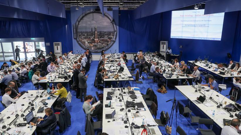 G20-Gipfel: Journalisten während des G20-Gipfels in Hamburg