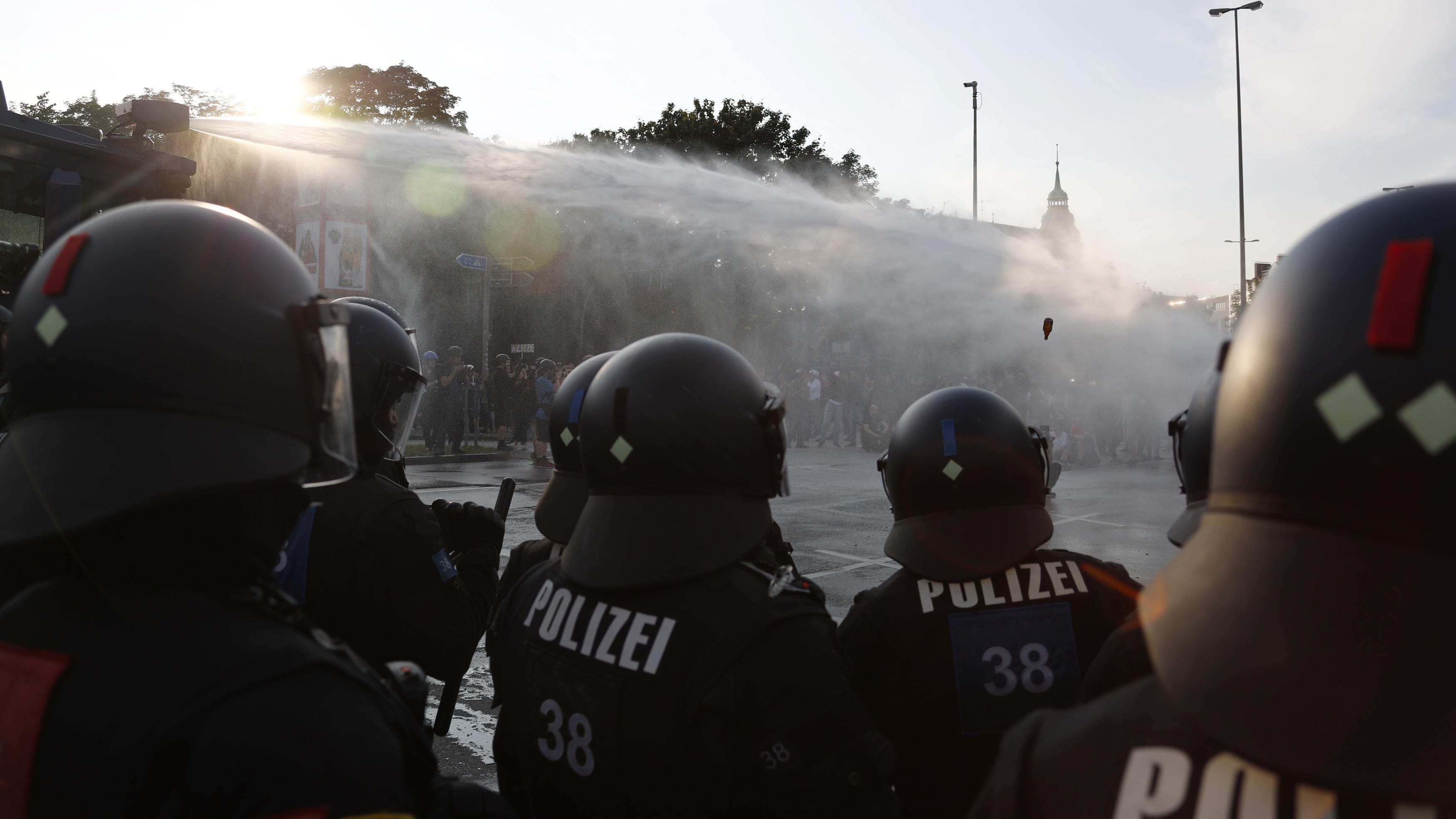 Die Verachtung für die Polizei ist erschreckend