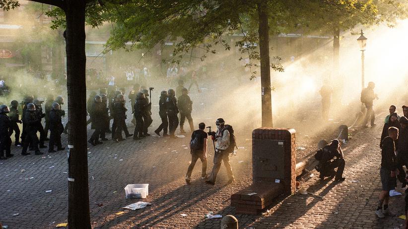 G20-Gipfel: Seit Donnerstagabend ist die Lage in Hamburg eskaliert.