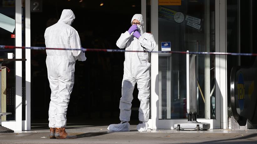Terrorismus: Spurensicherung nach dem Attentat von Hamburg
