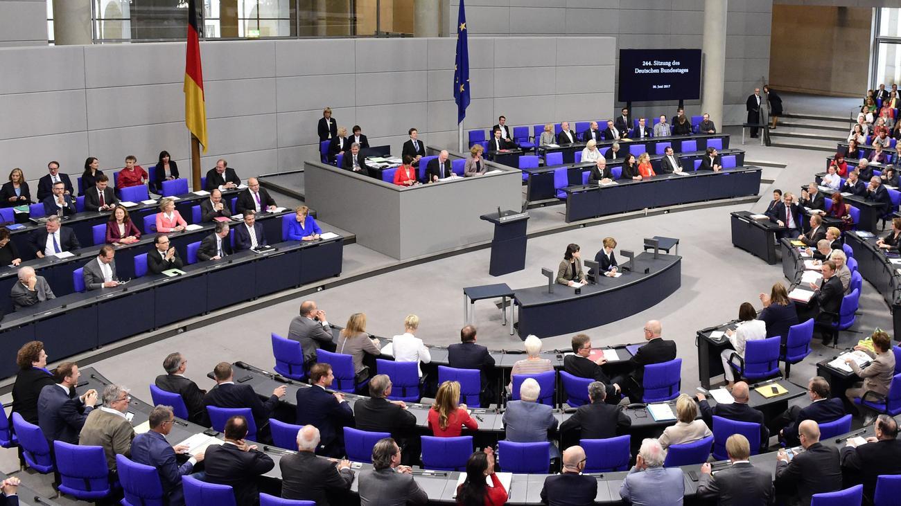 bundestagswahl 2017: wie wird der bundeskanzler gewählt? | zeit online, Einladung