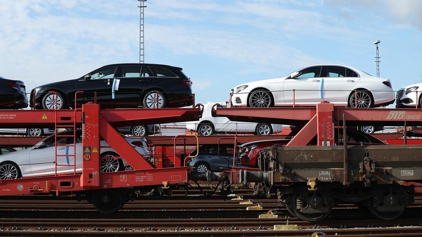 Dieselgipfel: Autos der Marke Mercedes-Benz