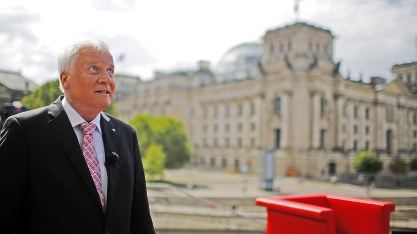 Horst Seehofer CSU Obergrenze Flüchtlinge