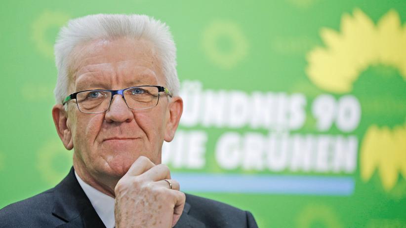 Abgasskandal: Baden-Württembergs Ministerpräsident Winfried Kretschmann