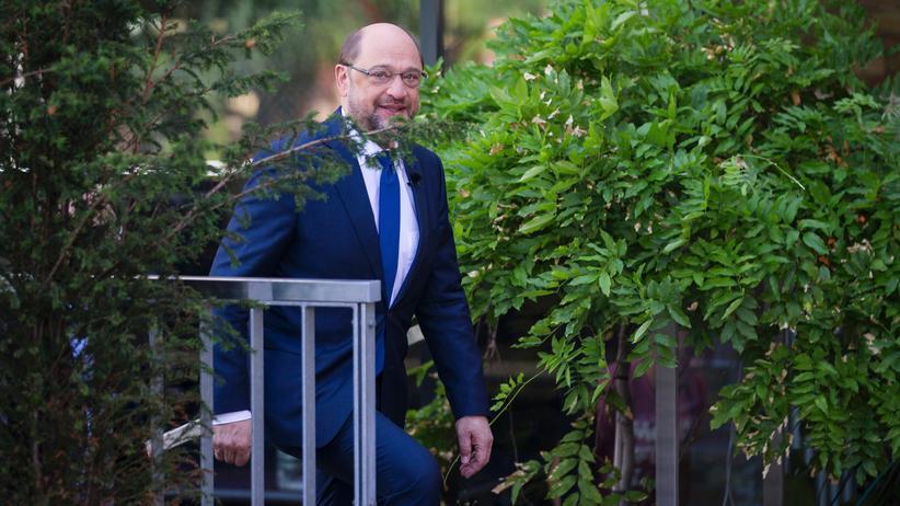 Martin Schulz kommt zum Sommerinterview mit dem ZDF
