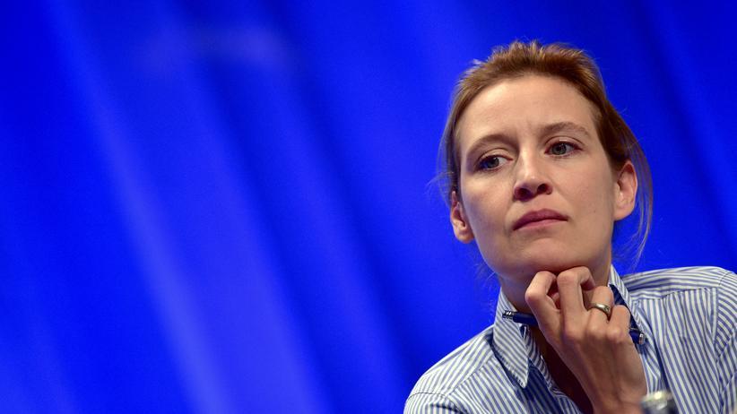 AfD: AfD-Spitzenkandidatin Alice Weidel auf dem Parteitag Anfang Mai in Stuttgart