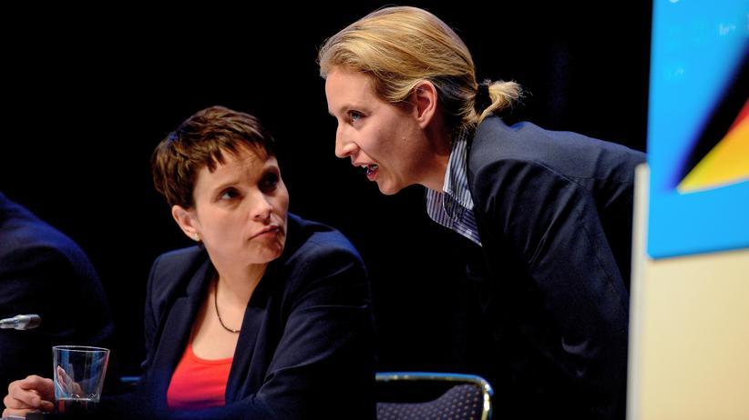 Alice Weidel und Frauke Petry: Auf dem jüngsten Parteitag der AfD in Köln