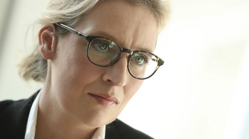 Alternative für Deutschland: Die heutige AfD-Spitzenkandidatin Alice Weidel