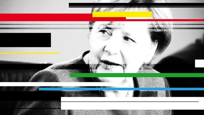 Angela Merkel: Sie selbst, sonst nichts