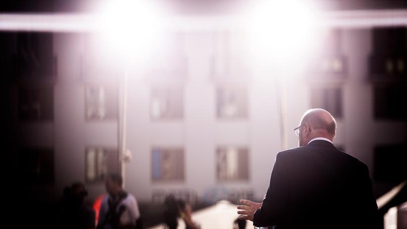 Wahlen: Martin Schulz bei einem Wahlkampfauftritt in Leipzig