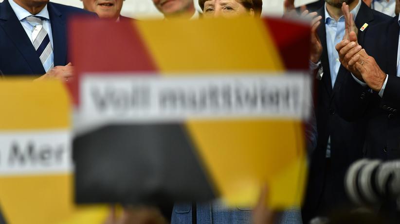 Bundeskanzlerin: Merkel ohne Land