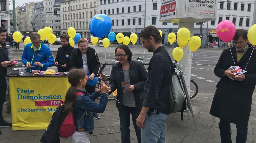 Bundestagswahlkampf: Endspurt vor dem Hipster-Hauptquartier