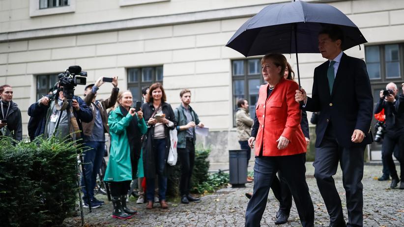 Schulz gibt Merkel erneut einen Korb [1:25]