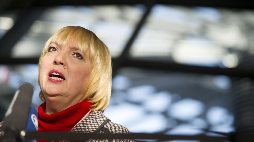 Koalitionsverhandlung: Claudia Roth, frühere Grünen-Chefin