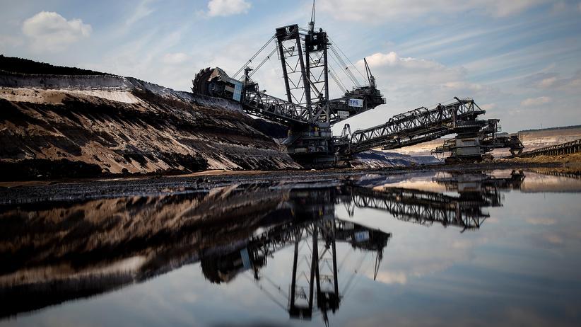 Klimawandel: Ein Braunkohletagebau in Garzweiler