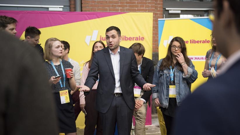 FDP: Konstantin Kuhle gehört zu den Jungen Liberalen, die in den Bundestag einziehen werden.
