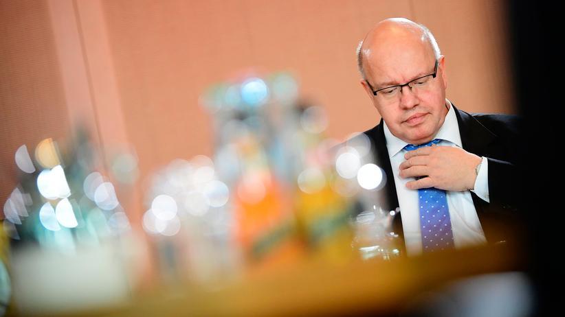 Kanzleramtschef : Kanzleramtsminister Peter Altmaier vor einer Kabinettssitzung Anfang Mai in Berlin