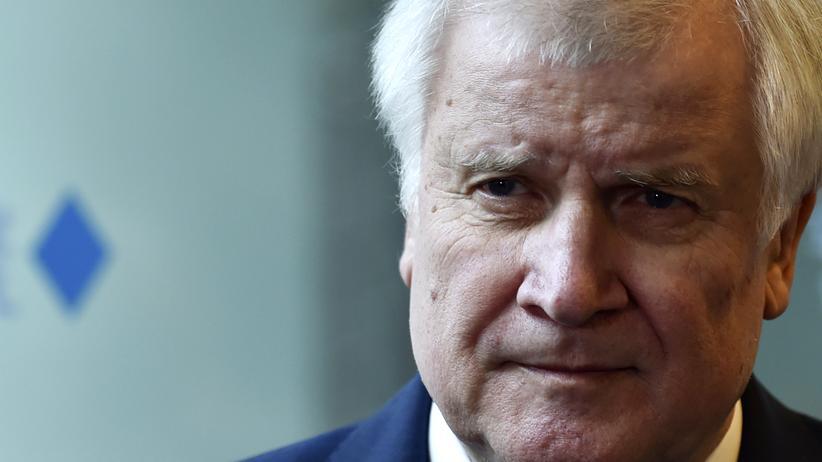 CSU: CSU-Parteichef Horst Seehofer am Montag in München