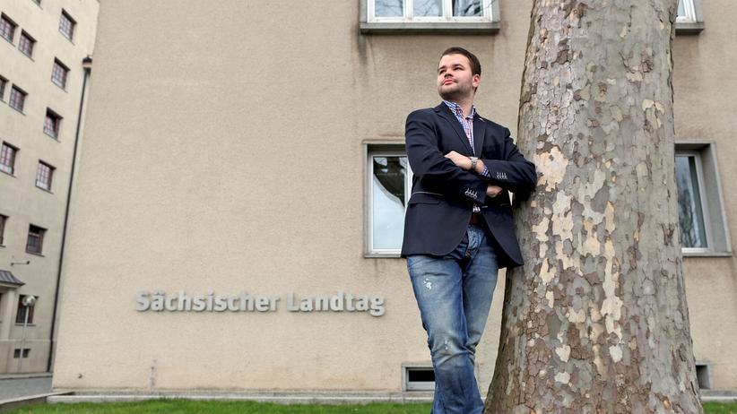 Frauke Petry: Julien Wiesemann, bisheriger Chef des AfD-Parteijugend in Sachsen