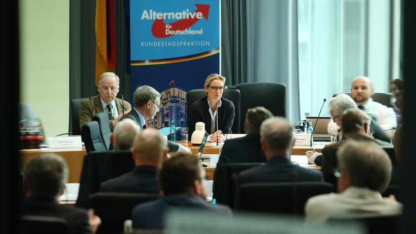 Alternative für Deutschland: Fraktionssitzung der AfD im Bundestag