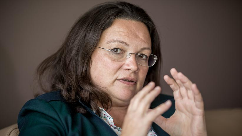 Andrea Nahles: Nach links?