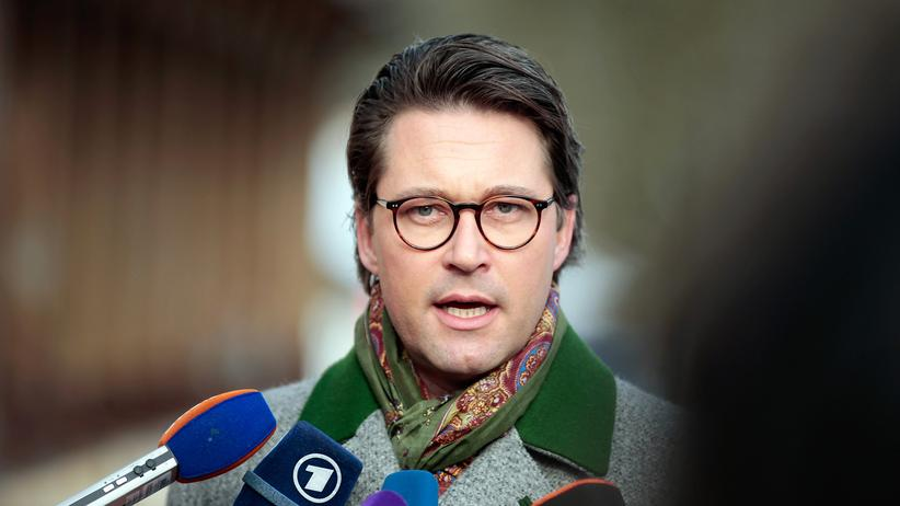 CSU: CSU-Generalsekretär Andreas Scheuer