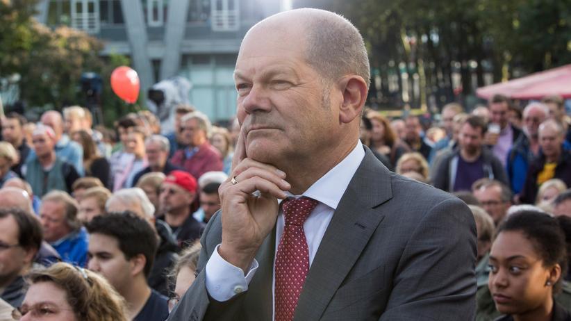 """Olaf Scholz: """"Die Sozialdemokratische Partei hat strukturelle Probleme"""""""