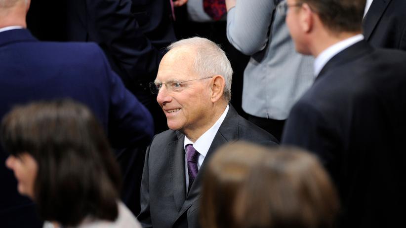 Wolfgang Schäuble: Der neue Bundestagspräsident Wolfgang Schäuble