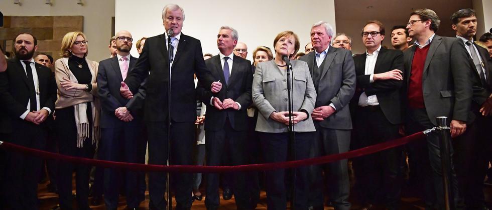 CDU: Einigung mit CSU und SPD