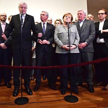 CDU: Geschlossen in die große Koalition
