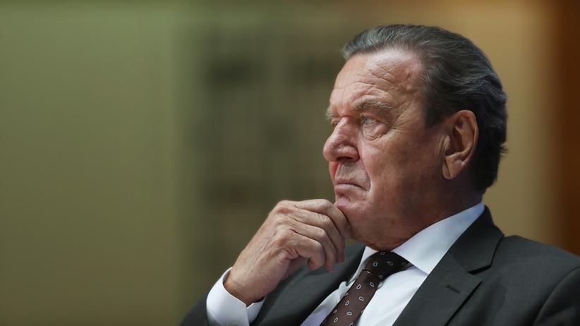 """Gerhard Schröder: """"Verglichen mit Trump können wir froh sein, einen Putin zu haben"""""""