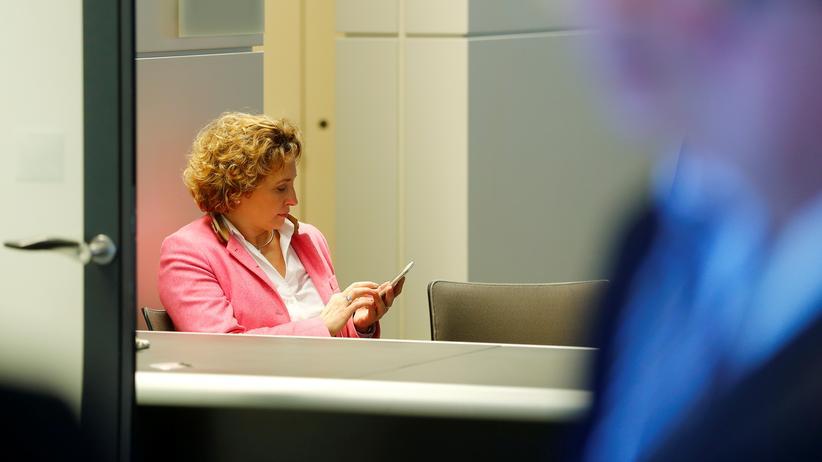 FDP-Generalsekretärin Nicola Beer lobt die Grünen.