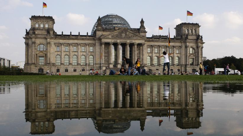 Jamaika-Sondierung: Blick auf das Reichstagsgebäude