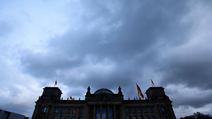 Regierungsbildungen: Das Reichstagsgebäude in Berlin