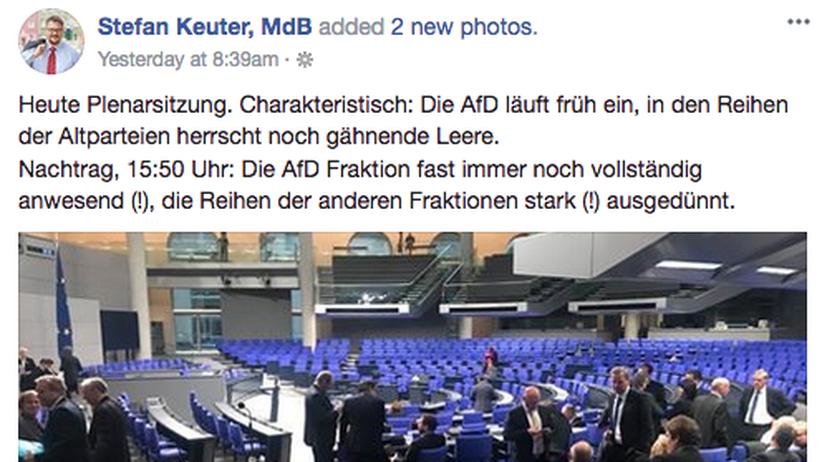 AfD Bundestag Stefan Keuter