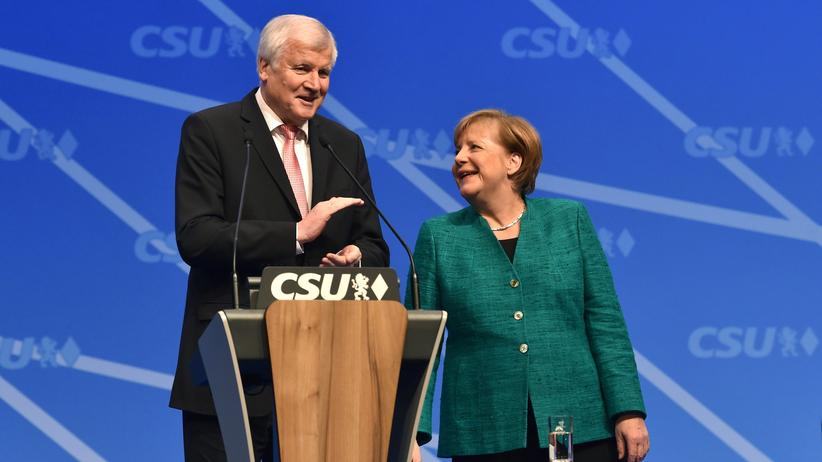 CSU-Parteitag: Seehofers Harmonie-Show
