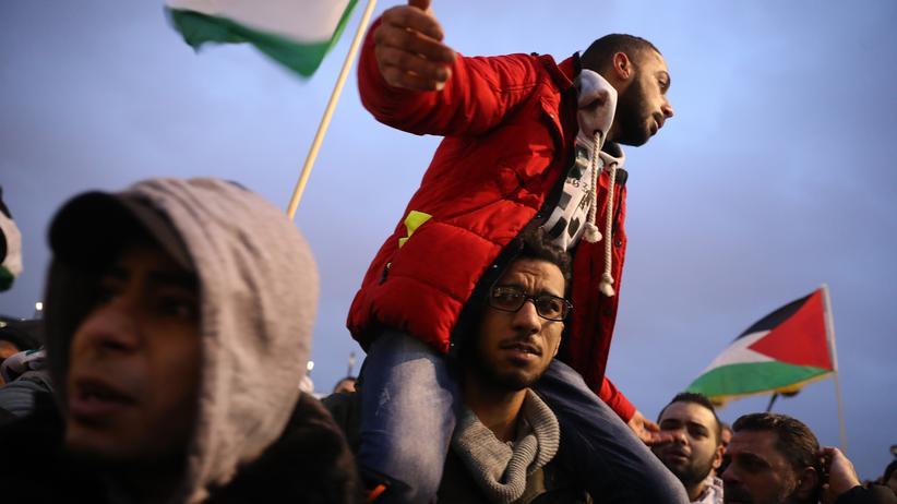 """Jerusalem-Demo: """"Hauptsache, es ist Frieden"""""""